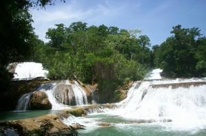 Cataratas de Agua Azul Mexico